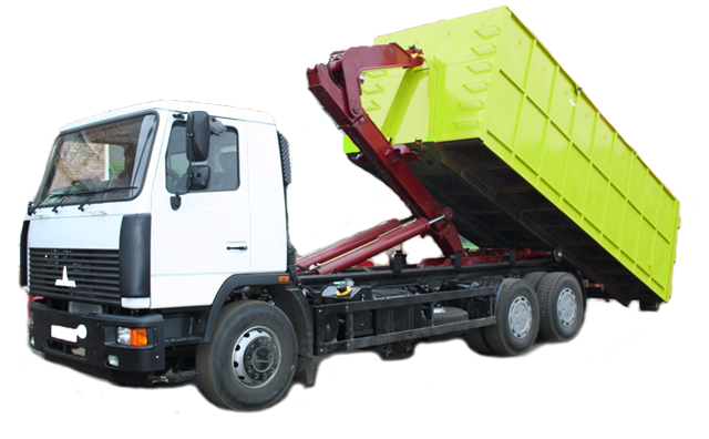 вывоз мусора Камаз 20 кубов