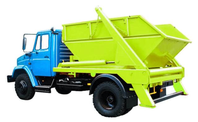 вывоз мусора Зил 8 кубов